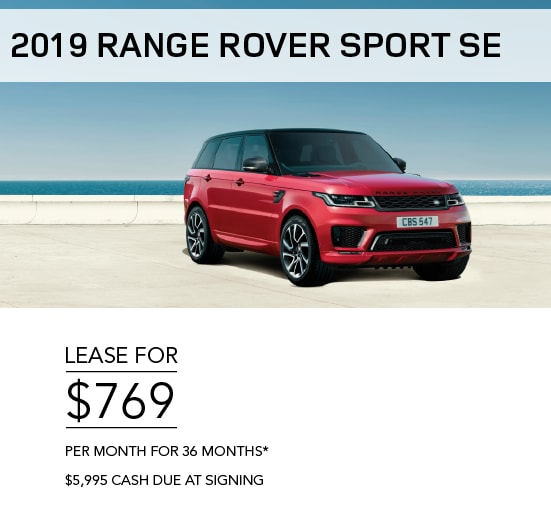 Land Rover Offers & Incentives