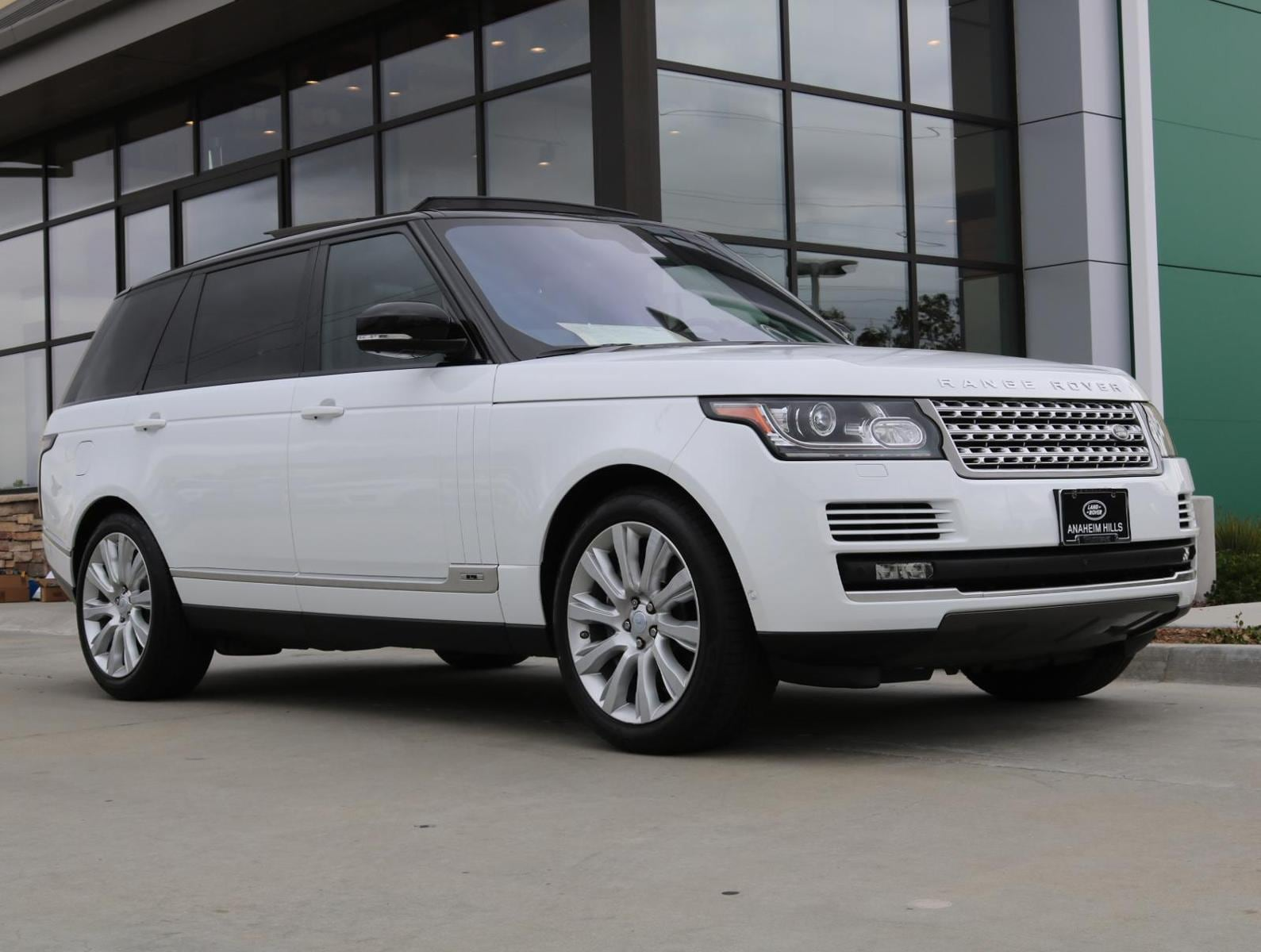 2016 Land Rover Range Rover Supercharged SUV Orange County California