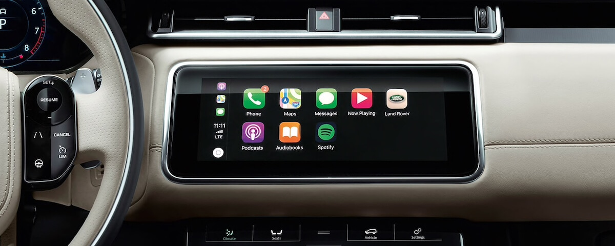 Land Rover Apple CarPlay