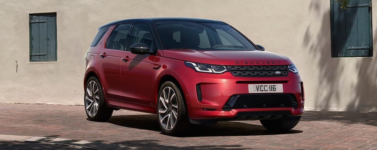 2020 Land Rover Discovery Sport front