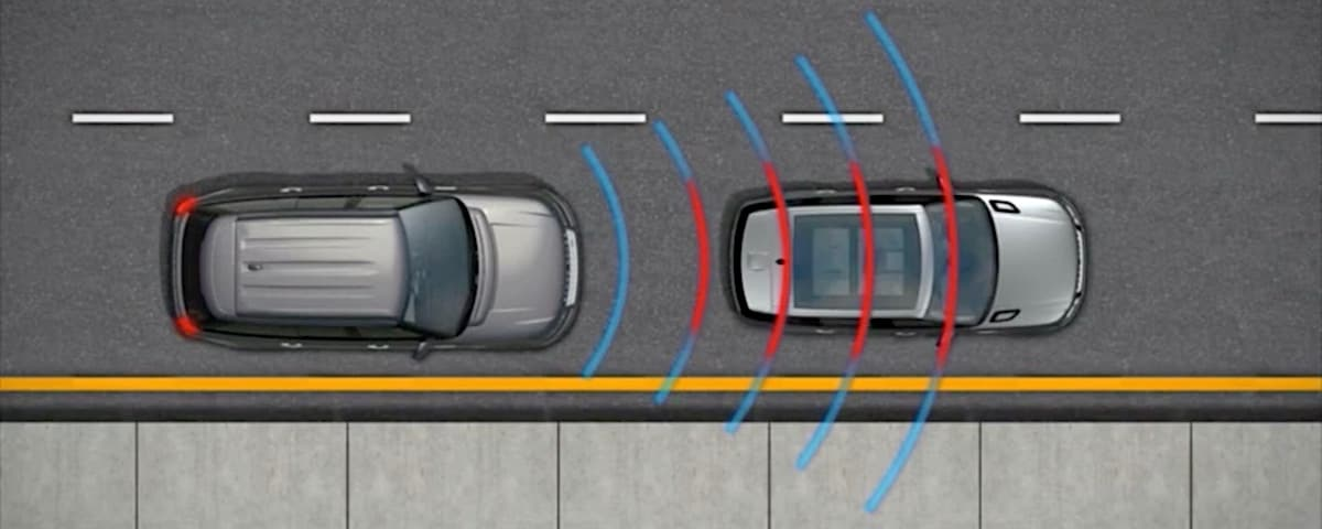Land Rover Autonomous Emergency Braking