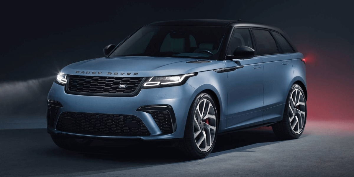 2020 Range Rover Velar SVAutobiography Dynamic Edition front 3/4 view