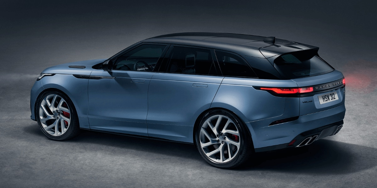 2020 Range Rover Velar SVAutobiography Dynamic Edition rear 3/4 view