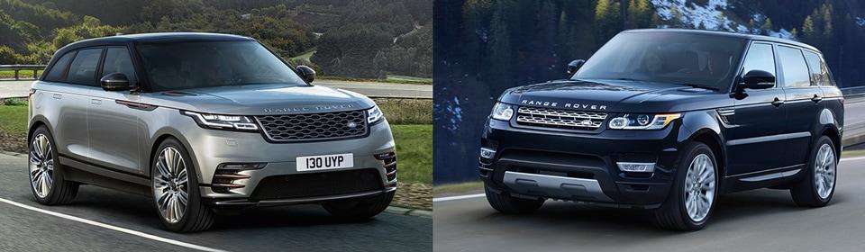 Range Rover Velar vs. Range Rover Sport Comparison