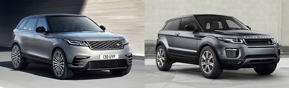 range rover velar vs range rover evoque. Black Bedroom Furniture Sets. Home Design Ideas