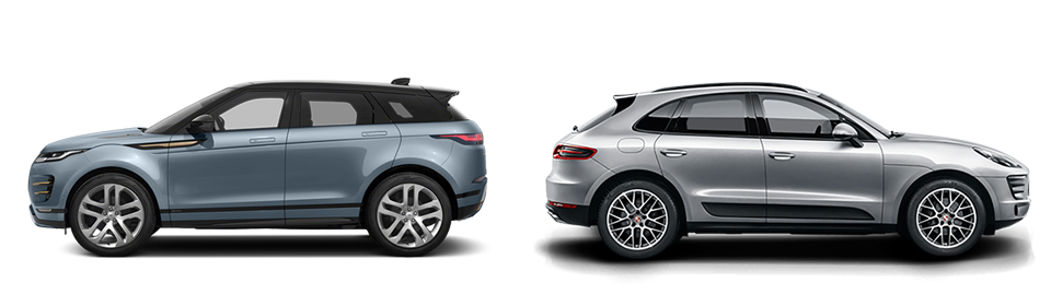 Land Rover Glen Cove >> Range Rover Evoque vs. Porsche Macan Comparison
