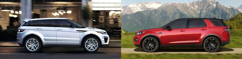 Range Rover Glen Cove >> 2018 Range Rover Evoque vs. Land Rover Discovery Sport