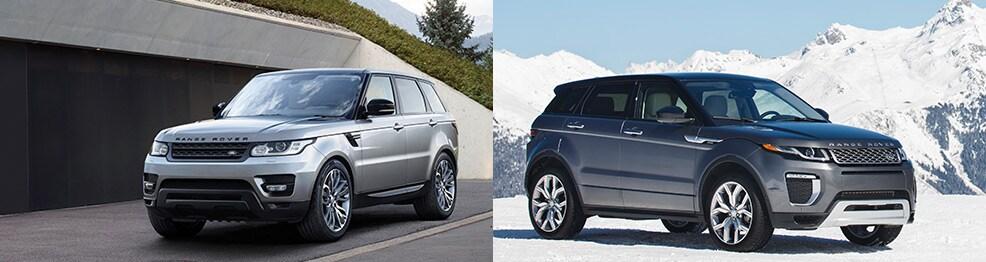 Range Rover Sport Vs Range Rover Evoque Comparison