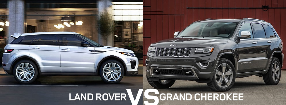 Land Rover Dealership >> Land Rover vs Jeep Grand Cherokee Comparison | Land Rover ...
