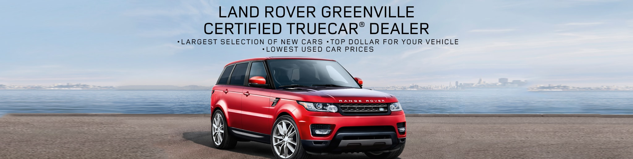 Certified Land Rover TrueCar Dealer in Greenville, SC