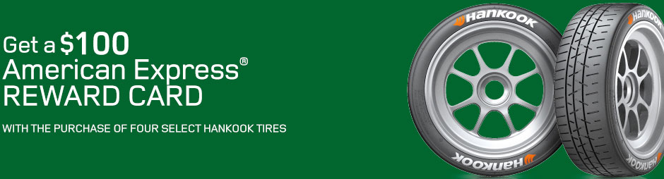 Land Rover Hankook Tire Rebates