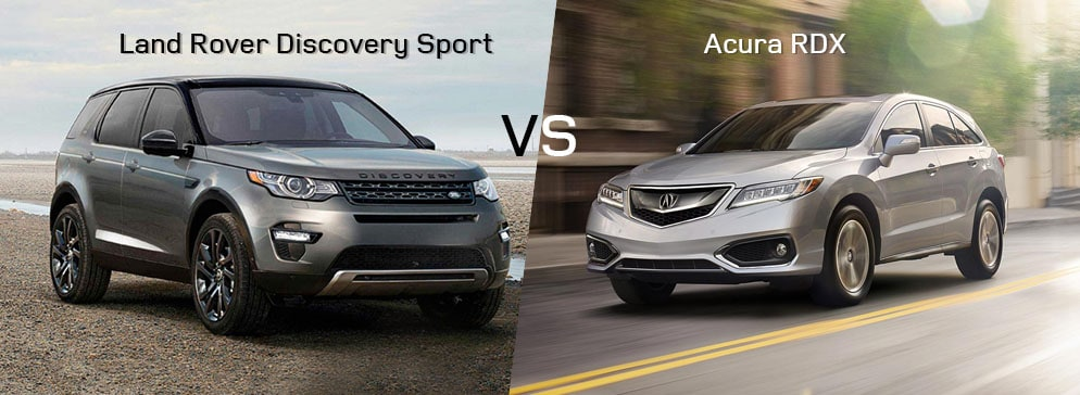 Land Rover Discovery Sport VS Acura RDX