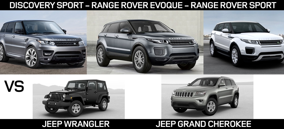 Land Rover Vs Jeep Compare Land Rover To Jeep Greenville Land Rover