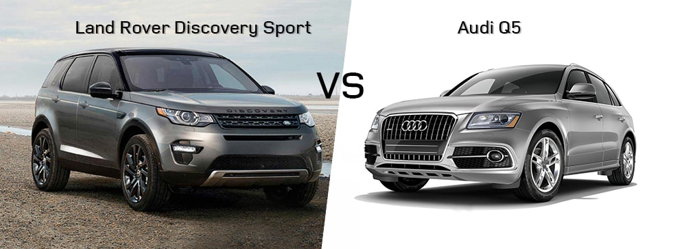 Land Rover Discovery VS Audi Q5