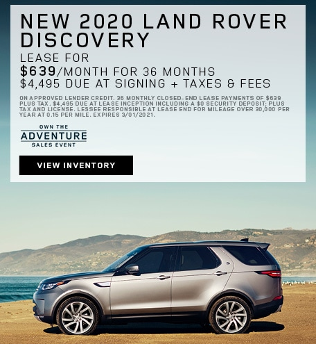 New 2020 Land Rover Discovery
