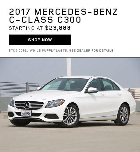 2017 Mercedes-BenzC-Class C 300