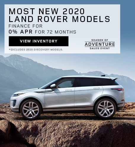 New 2020 Land Rover Models