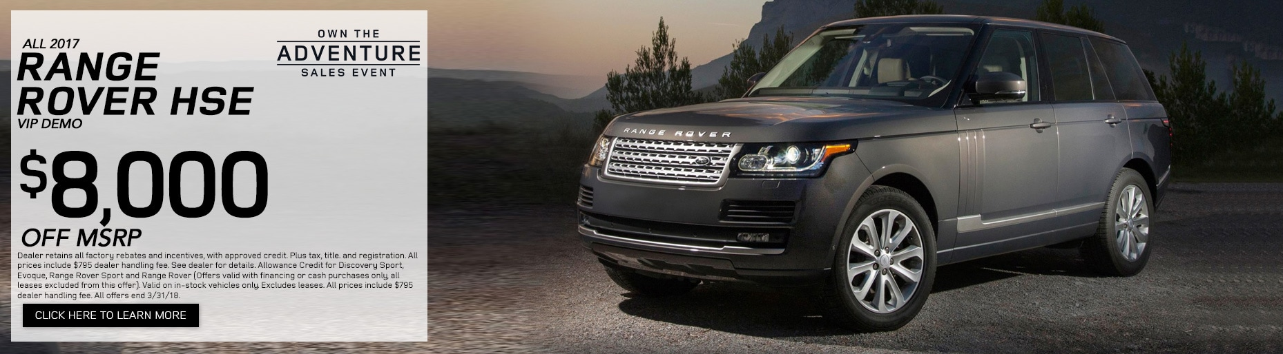 Denver CO New And Used Vehicles At Land Rover Denver - Land rover discovery dealer