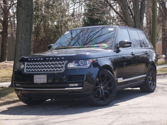 Certified 2013 Land Rover Range Rover Supercharged SUV For Sale in Southampton