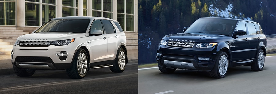 land rover discovery sport vs range rover sport. Black Bedroom Furniture Sets. Home Design Ideas