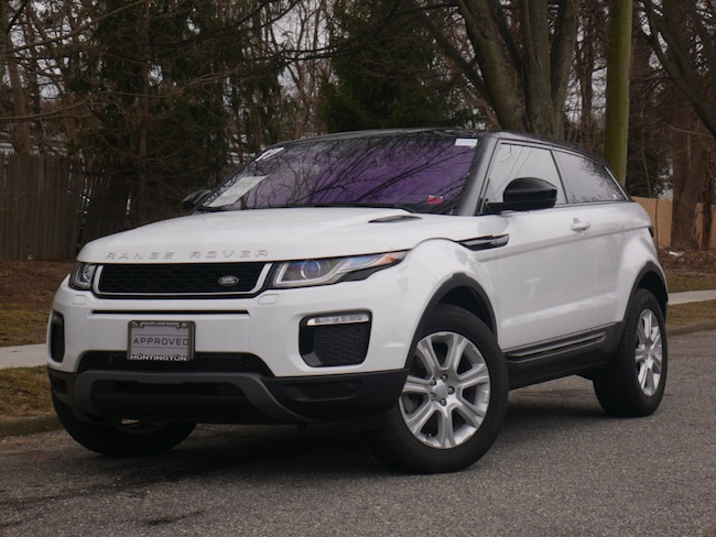 Used 2017 Land Rover Range Rover Evoque Se Premium Coupe
