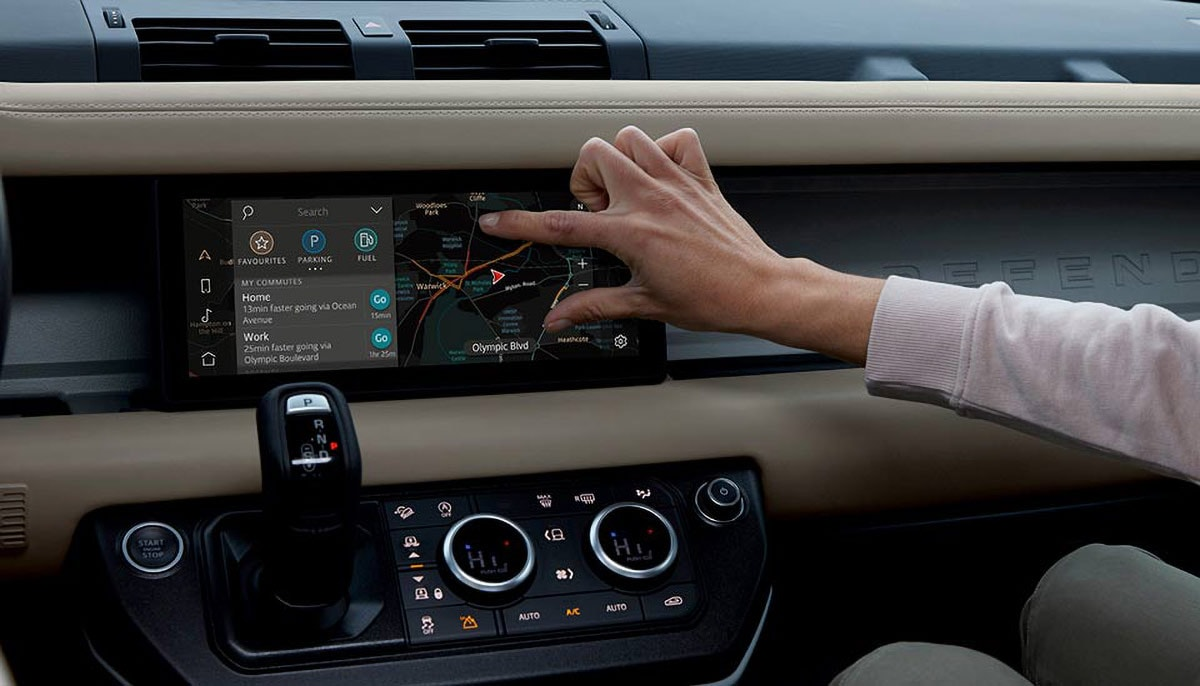 Land Rover Defender Technology