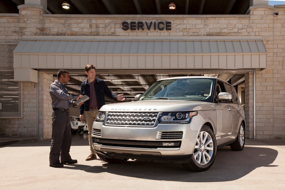 Free Land Rover Service Vehicle Pickup Loaner Delivery