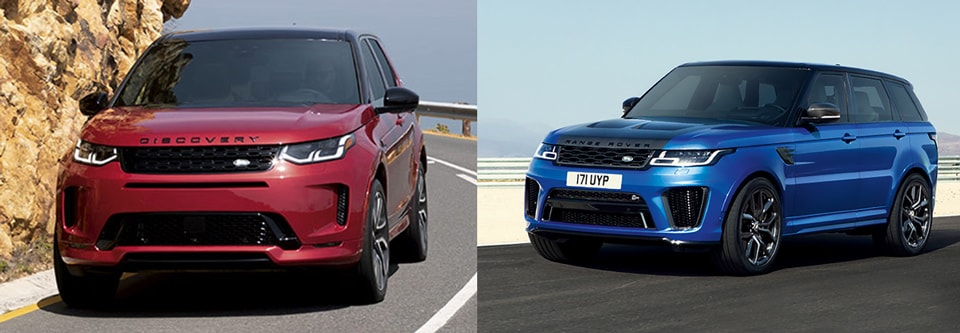 Land Rover Discovery Sport vs. Range Rover Sport