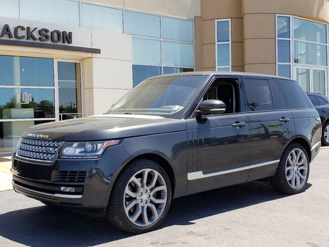 used 2014 land rover range rover for sale at land rover jackson