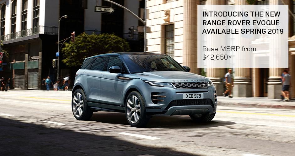 Land Rover Jacksonville >> 2020 Range Rover Evoque Land Rover Jacksonville