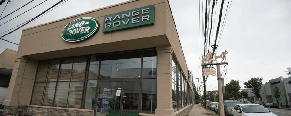 Exterior view of Land Rover Larchmont/New Rochelle