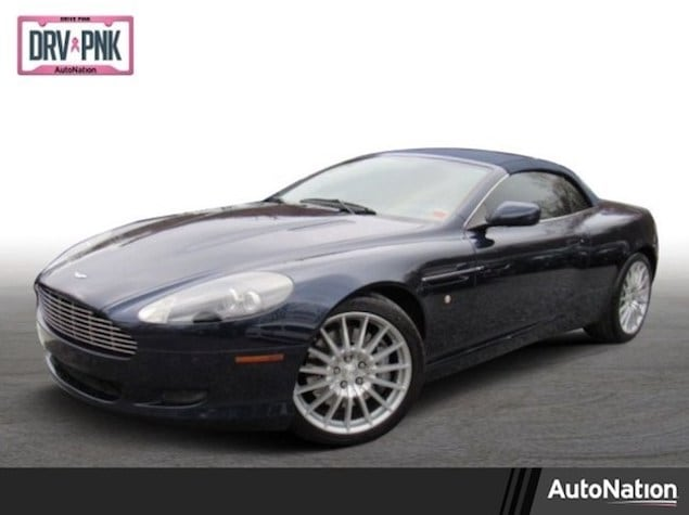 2008 Aston Martin DB9 convertible in blue