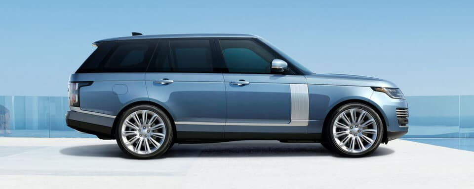 2018 Range Rover LWB side view
