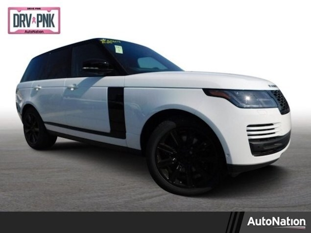 2019 Range Rover in white and black