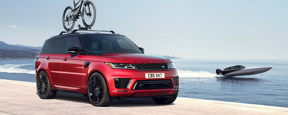 2018 Range Rover Sport front 3/4 view