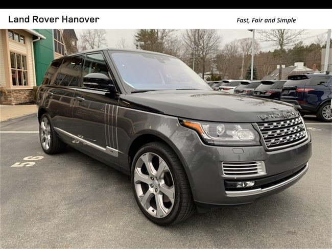 2017 Land Rover Range Rover 5.0L V8 Supercharged SV Autobiography SUV