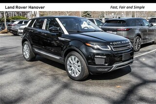 New 2018 Land Rover Range Rover Evoque HSE SUV for sale in Hanover, MA at Land Rover Hanover