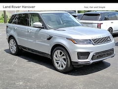 2019 Land Rover Range Rover Sport HSE SUV for sale near Boston at Land Rover Hanover