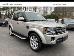 2016 Land Rover LR4 SUV for sale near Boston, MA at Land Rover Hanover