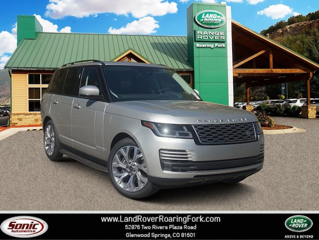New 2019 Land Rover Range Rover 3.0L V6 Supercharged HSE SUV in Glenwood Springs