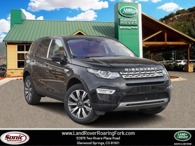 New 2019 Land Rover Discovery Sport HSE LUX SUV in Glenwood Springs