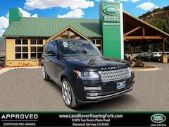 Certified Pre-Owned 2014 Land Rover Range Rover Supercharged Autobiography 4WD 4dr for sale in Glenwood Springs, CO