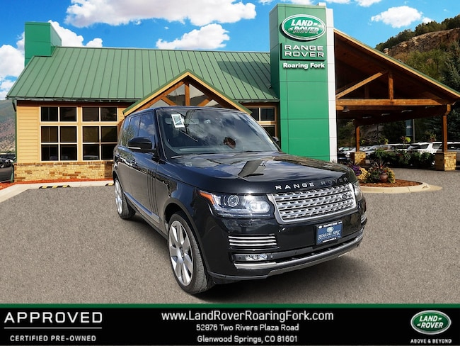 Certified Used 2014 Land Rover Range Rover Supercharged Autobiography 4WD 4dr in Glenwood Springs, CO