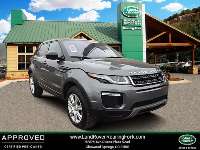 Certified Used 2018 Land Rover Range Rover Evoque SE SUV in Glenwood Springs, CO