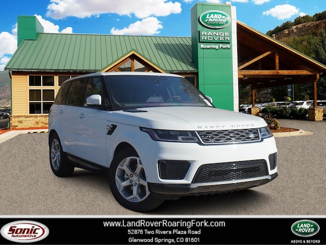 New 2019 Land Rover Range Rover Sport HSE Td6 SUV in Glenwood Springs