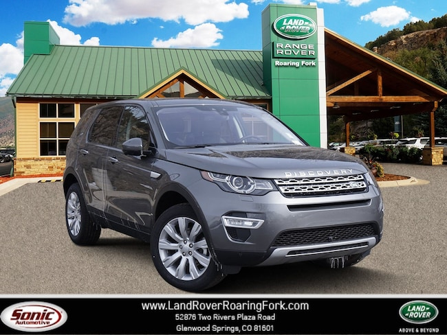 New 2018 Land Rover Discovery Sport HSE LUX SUV in Glenwood Springs