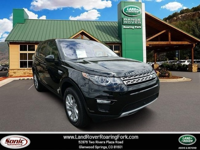 New 2018 Land Rover Discovery Sport HSE SUV in Glenwood Springs