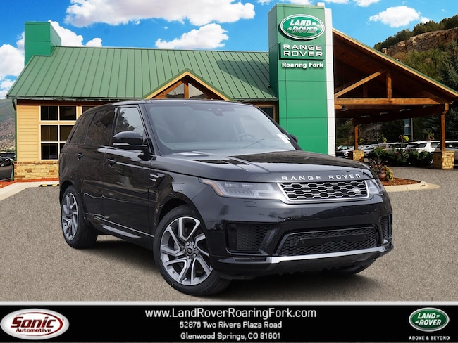 New 2019 Land Rover Range Rover Sport HSE SUV in Glenwood Springs