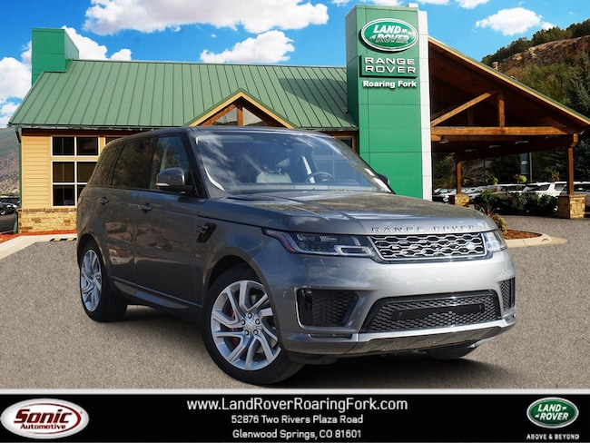 New 2019 Land Rover Range Rover Sport Supercharged Dynamic SUV in Glenwood Springs