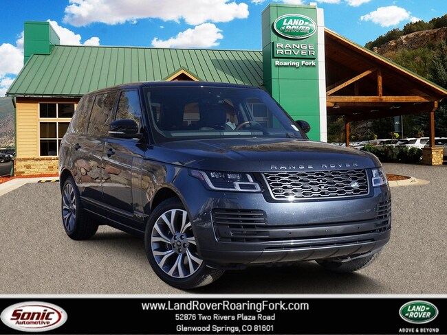 New 2019 Land Rover Range Rover 5.0L V8 Supercharged Autobiography SUV in Glenwood Springs